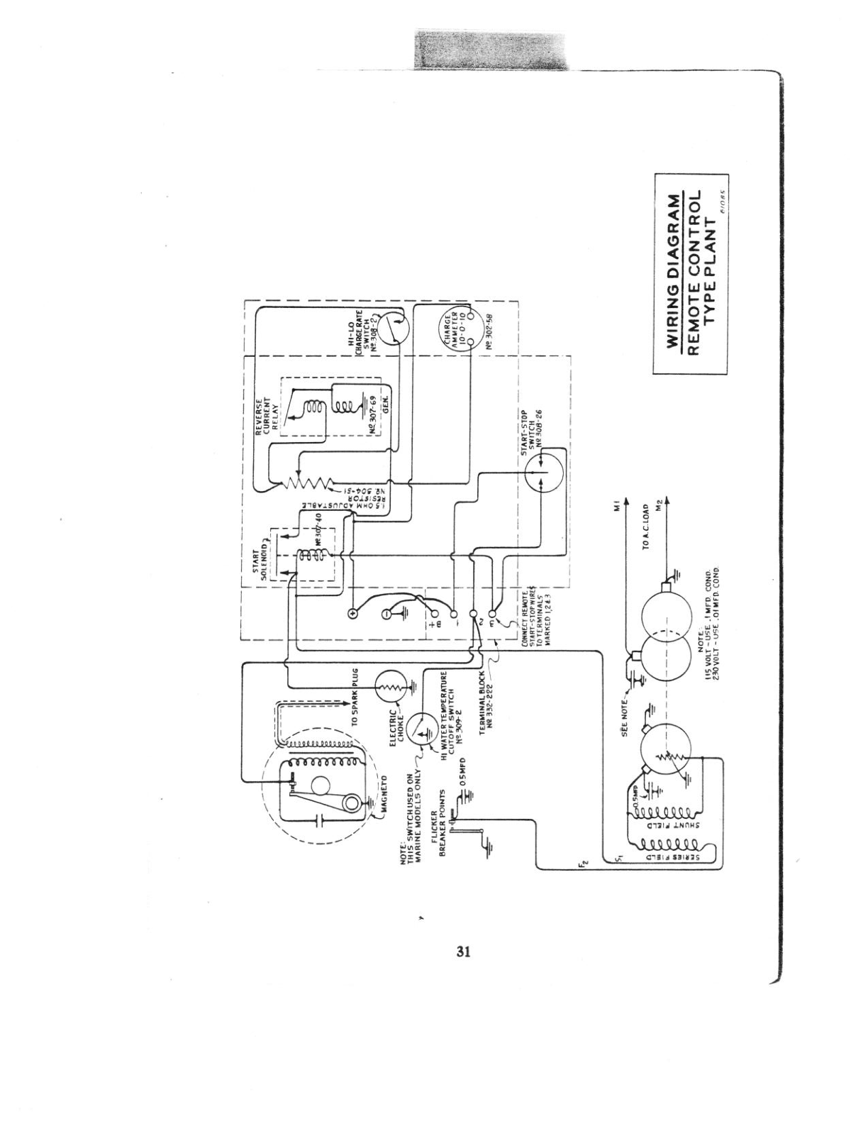 i am looking for a schematic for an onan generator 436296