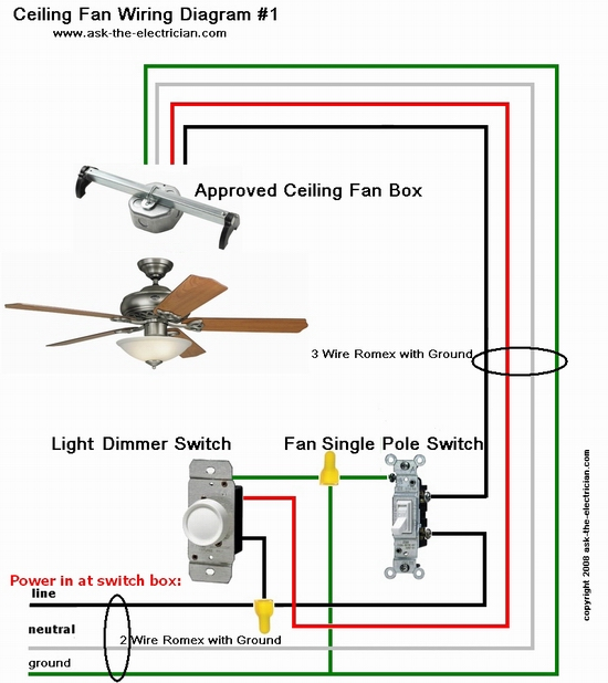 Dimmer Switch Wiring Single Pole Single Pole Dimmer Switch