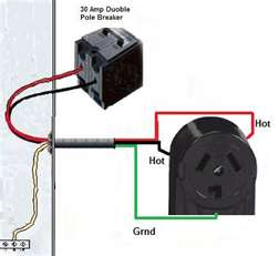 How To Run Wire To A Dryer What To Do With Red Wire In 10 3