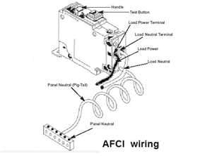 arc fault breaker wiring diagram page 2 wiring diagram and rh rivcas org Residential Wiring Circuits Basic Receptacle Wiring
