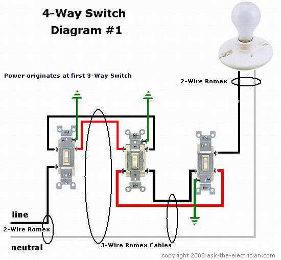 How To Wire 4-way Switch  - Devices  U0026 Integrations