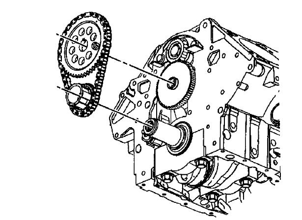 service manual  2005 buick lesabre timing chain