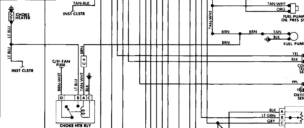 pontiac firebird trans am trying to locate the choke heater graphic