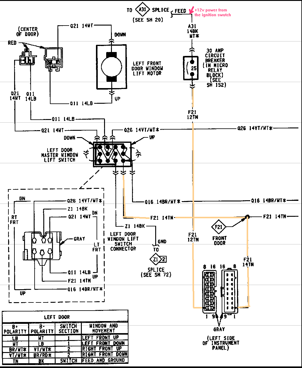 wiring diagram 1994 plymouth grand voyager overdrive