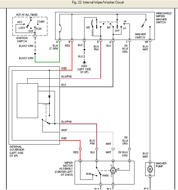 1999 ford f 150 blower motor wiring diagram 87 f150: low speed wire for the wiper motor---- at the swich ford f 150 wiper motor wiring