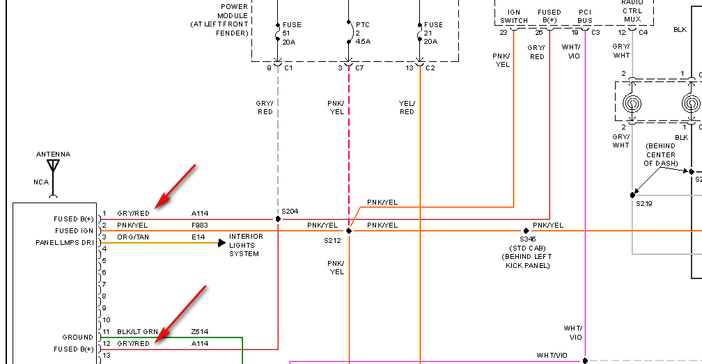 hello i need a stereo wiring diagram for a 2005 dodge ram 1500 graphic