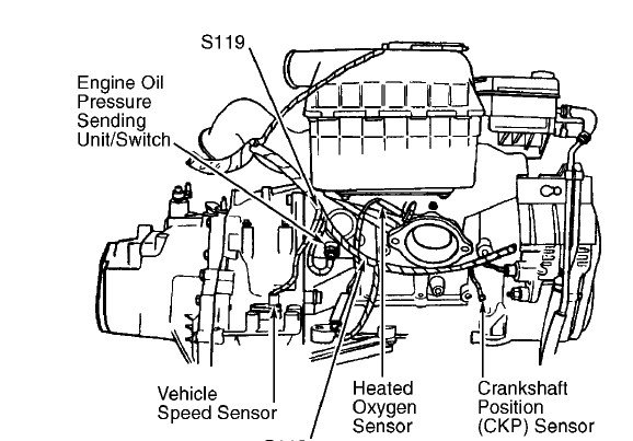 dodge sel engine diagram