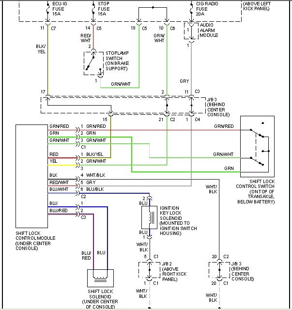 1994 Geo Tracker Radio Wiring Diagram