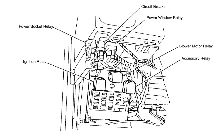 Power Relay Me Power Door Lock Relay Wiring Diagram Wiring Diagrams