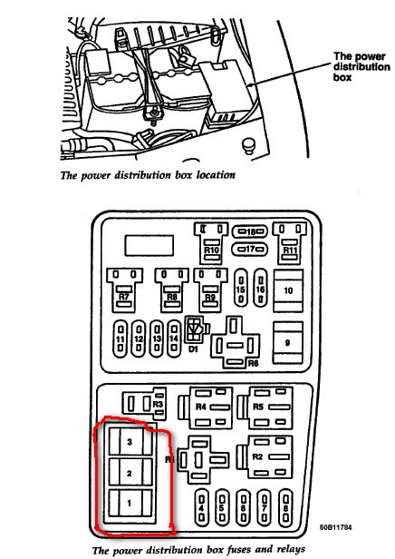 2000 Mercury Mystique Fuse Box Diagram on 2001 cougar fuse and relay diagram