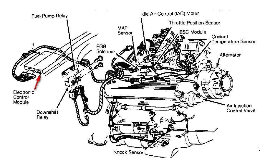 for a 1995 chevy tahoe 5 7 engine diagram  for  free engine image for user manual download