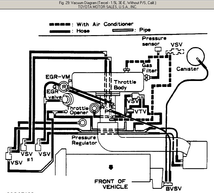what is vacuum hose diagram tercel sitestatrcom html