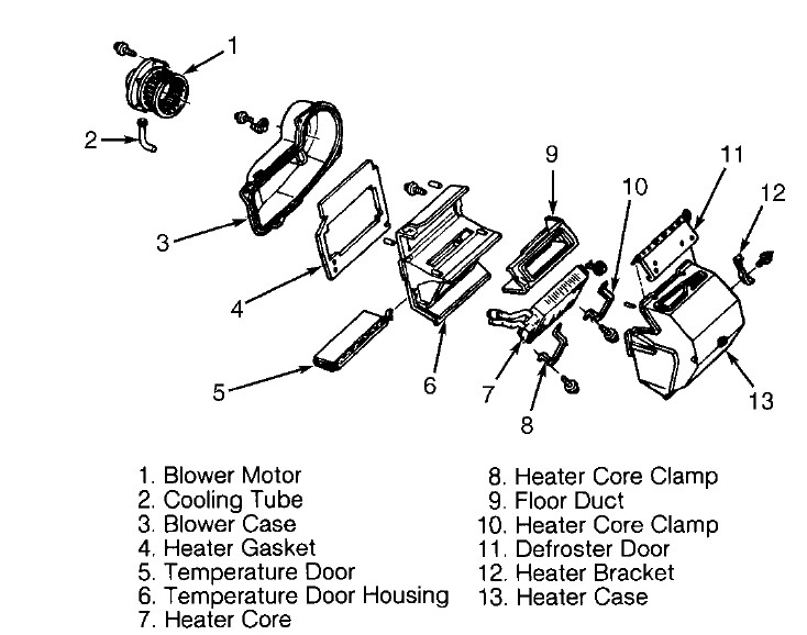 Gmc Blower Motor Resistor Replacement