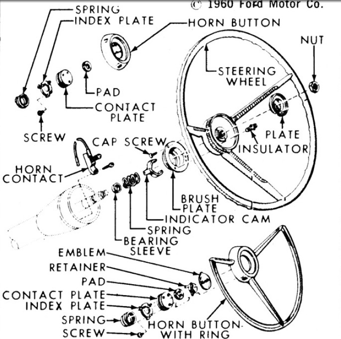 Schematics h additionally Schematics h furthermore 1955 Chevy Truck Tail Light Wiring Diagram Html as well 1965 Corvette Wiring Harness likewise Exterior Light Turn Signals And Horns. on 1966 f 100 tail light wiring diagram