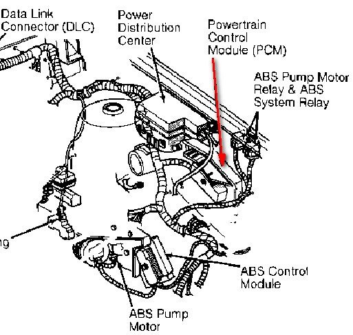 2006 dodge ram fan diagram
