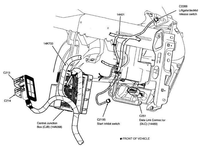 2014 ford focus starter wiring diagram 2014 ford focus stereo wiring diagram