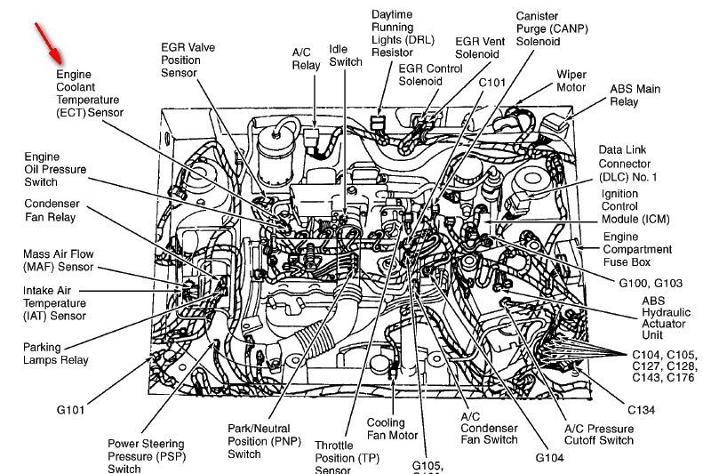 ford aspire engine diagram ford wiring diagrams online