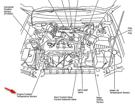 Nissan Altima 2 5l Engine Schematic on 2002 Nissan Frontier Fuel Filter Location