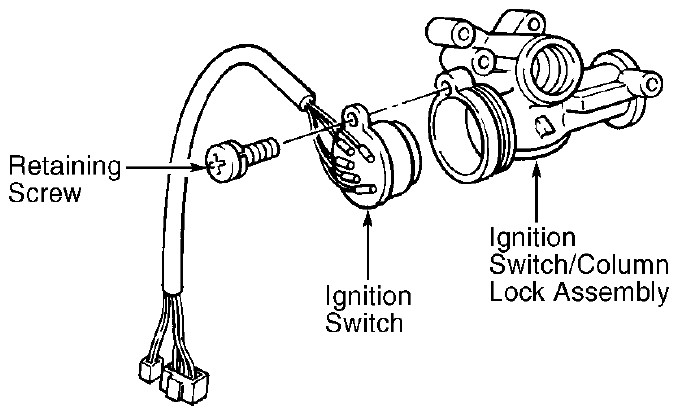 the ignition switch will not shut off properly at times  it hangs up and will not go to off