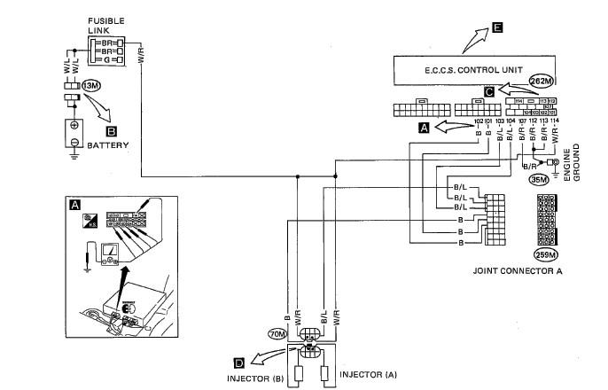 Nissan Xterra Distributor Diagram additionally 1997 Nissan D21 Wiring Diagram together with Nissan Hardbody Wiring Diagram together with Nissan Pickup Z24 Engine Wiring Diagram furthermore Nissan 240SX Suspension Parts Diagram. on alternator wiring diagram for 86 nissan hardbody