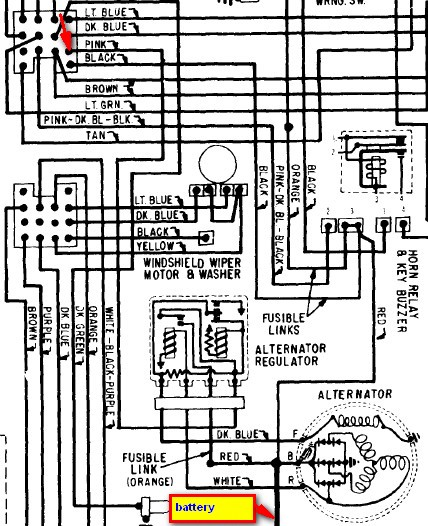 wiring diagrams for alternator for 68 camaro  u2013 readingrat net