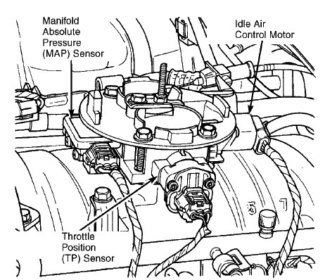Toyota 22re Throttle Body Diagram on 1995 dodge dakota alternator wiring diagram