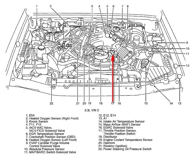 vacuum diagram for a 2002 nissan xterra fixya
