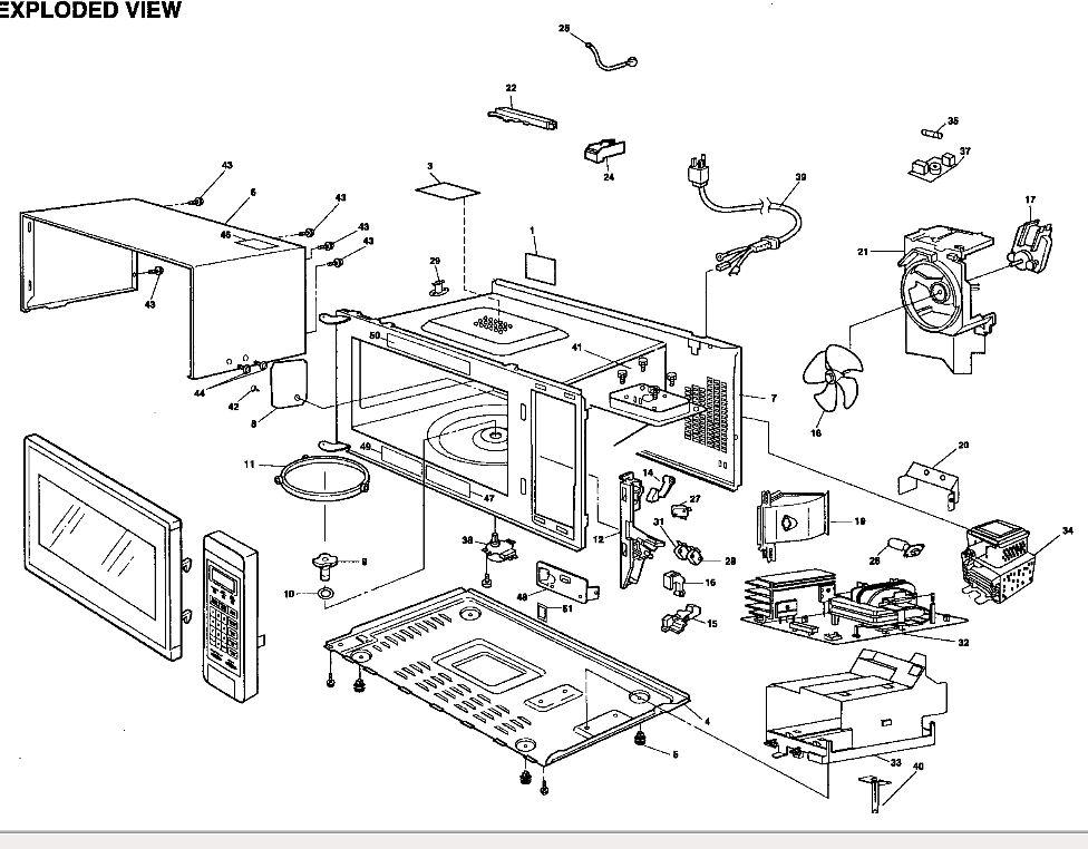 We Have A Panasonic Genius Prestige Microwave Model