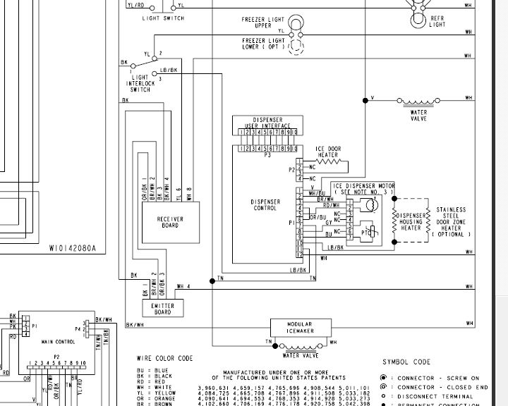 schematic wiring whirlpool m ed22ekxp how to diagnose non-working ice auger motor in kenmore ... schematic auger wiring whirlpool 2198954