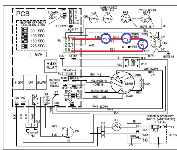 can u0026 39 t locate reset button for 58pov furnace