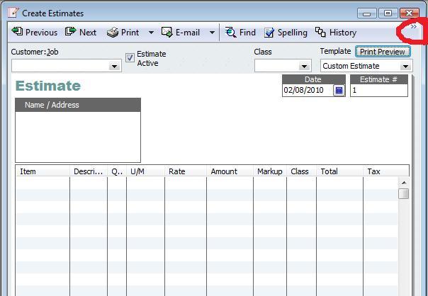 free blank estimate template microsoft .
