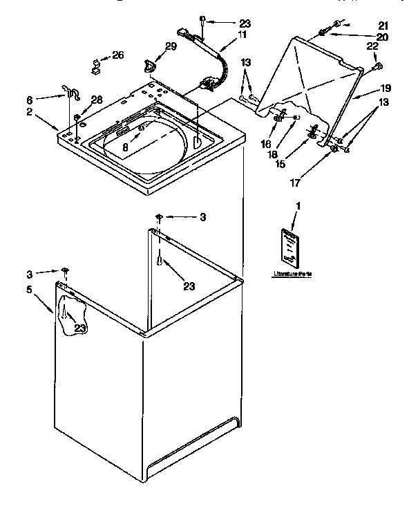 kenmore model 110 washing machine