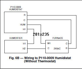 how do i wire an totalline intellimist m p110 0009 humidistat