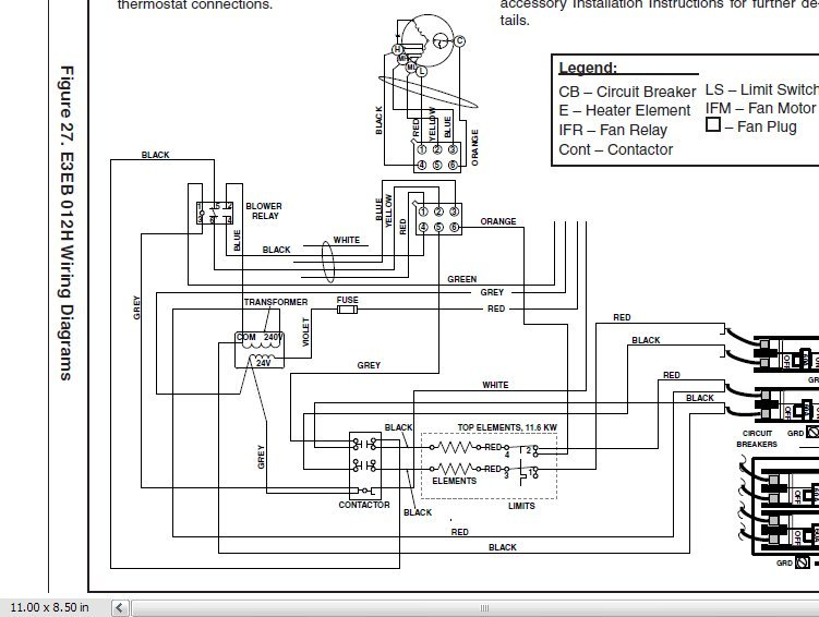 electric furnace wiring diagram images