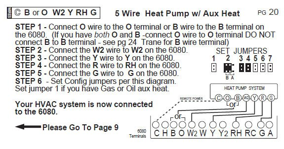 wiring diagram for ritetemp thermostat wiring i was trying to install a new programable thermostat on my on wiring diagram for ritetemp