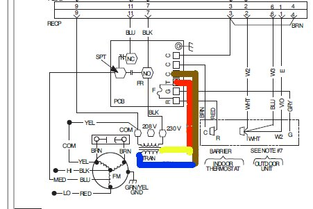 carrier wiring diagram heat pump carrier image i have a carrier heat pump system about two weeks ago outside on carrier wiring diagram