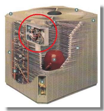 Trane Xe1000 Condenser Fan Motor Replacement