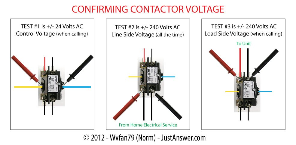 Contactor Voltage on Reading Hvac Wiring Diagrams