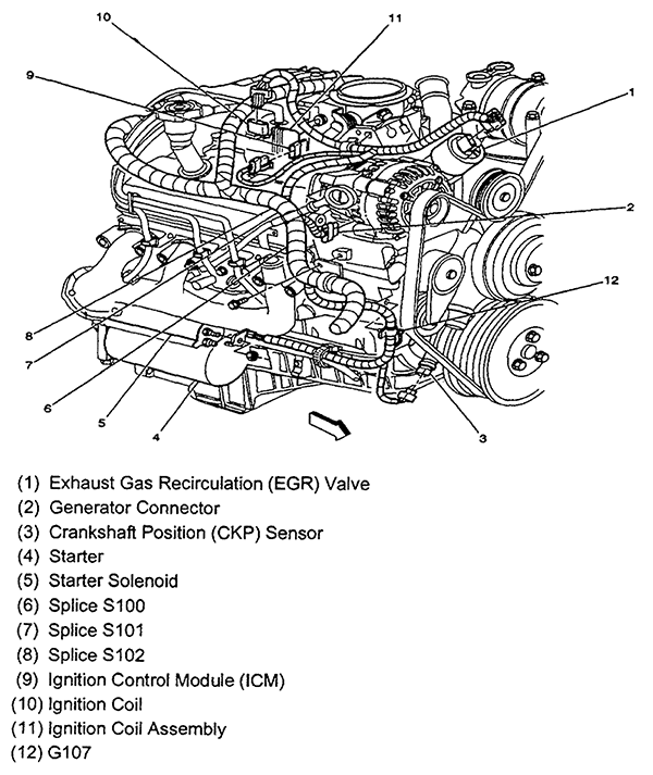 Diagrams Wiring   Camshaft Position Sensor Location 2010