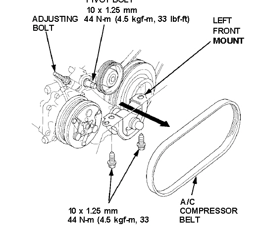 2yv59 Change Ac Belt 99 Honda Cr V Problem on 2000 Honda Civic Alternator