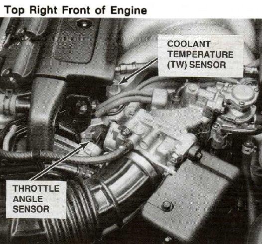 [Replace Engine Coolant Temperature Sensor 2001 Acura Nsx