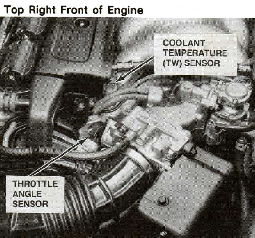 1995 Acura Legend Engine Bay – name