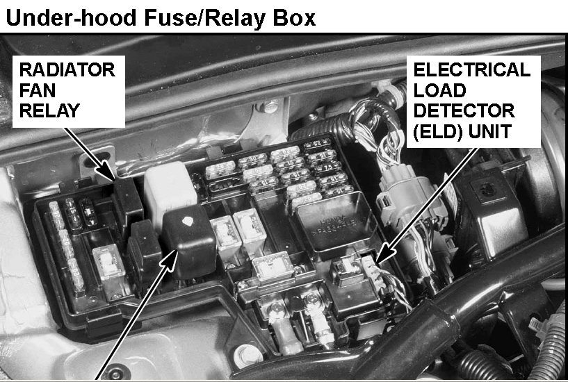 acura cl v6 fuse box pour 1999 cl 3.0 has a check engine code of p1297, eld ... #11
