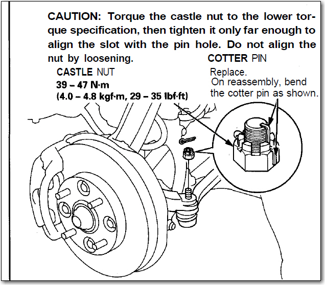 Service manual rod bearing replacement torque 2004 honda for Castle honda service