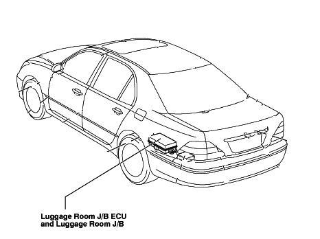 Window 98 Lexus Gs300 Fuse