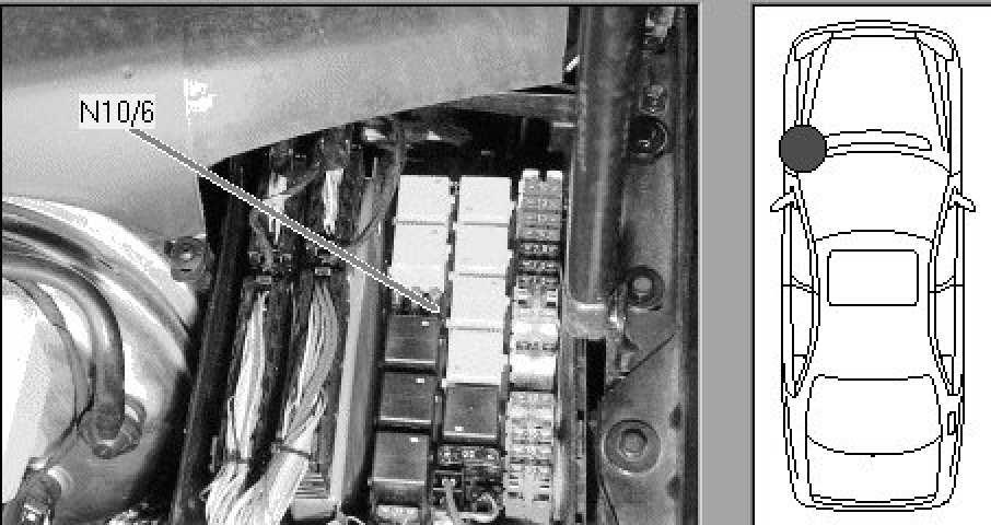 2001 mercedes s55 amg fuse diagram