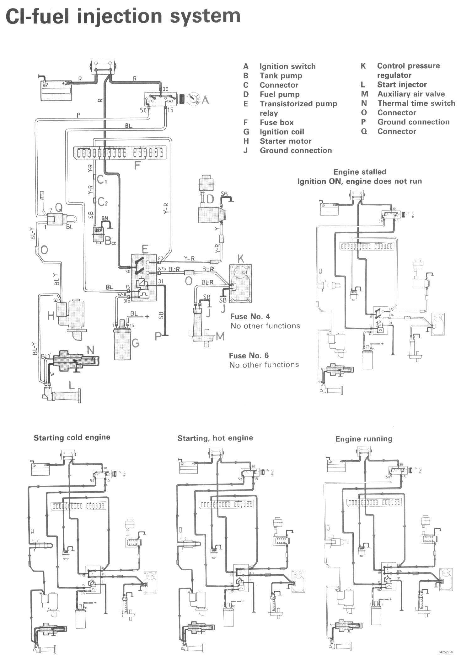 volvo 740 turbo fuel pump wiring diagram  volvo  free