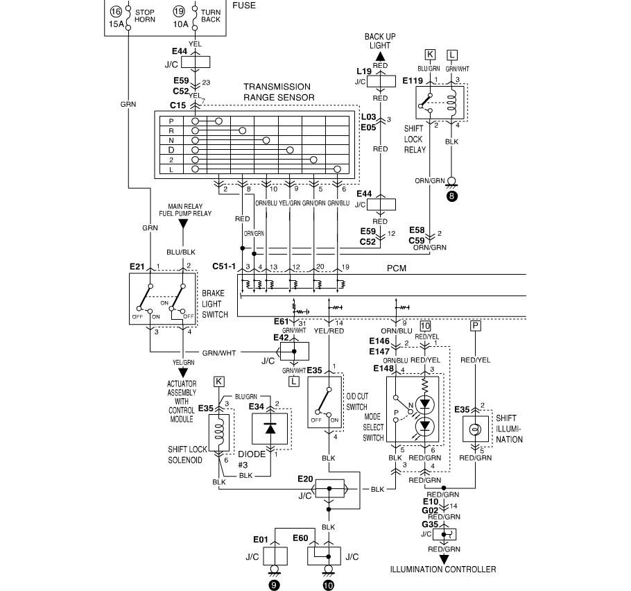 wiring diagram for 2001 suzuki xl7  wiring  get free image