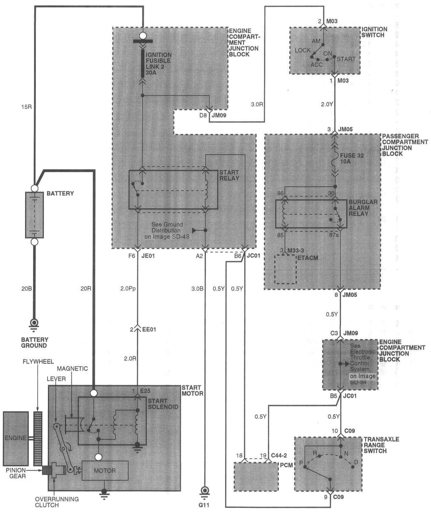 i have 2002 hyundai. xg350 car won't turn over replaced ... 2005 hyundai xg350 engine diagram 2002 hyundai xg350 wiring diagram #13