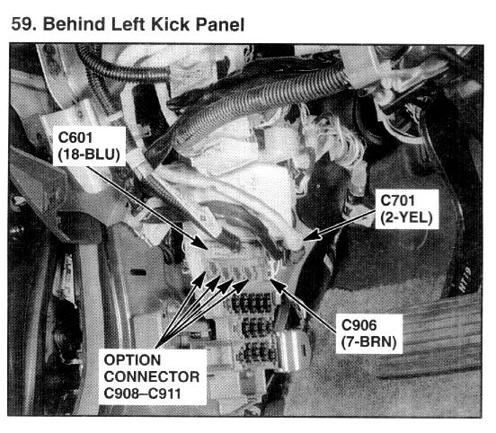 Pin Out For The Heated Seat Switch Also A Diagram Of The Circuit